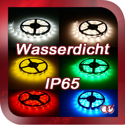 5m led strip streifen leiste 30 smds ip65 wasserdicht f r au enbereich aussen ebay. Black Bedroom Furniture Sets. Home Design Ideas